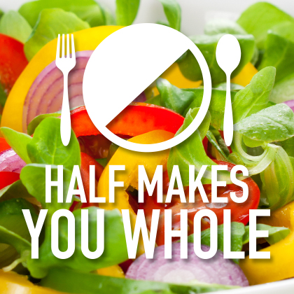 Half Makes You Whole