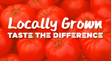 Locally Grown Taste the Difference