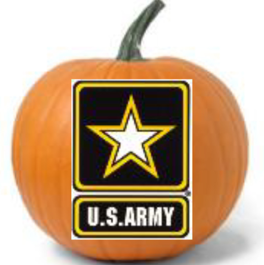 Military Pumpkins Army